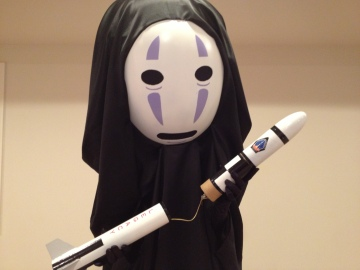 No-Face Cosplay Kimer Props